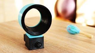 Rotorlosen Ventilator mit dem 3D Drucker selber machen - DiY