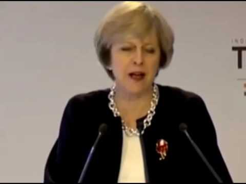 British Prime Minister Theresa May on Visa issue in her speech in India