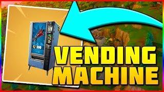 VENDING MACHINE COMING SOON | Fortnite Battle Royale