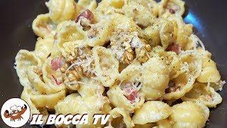 346 - Pasta noci speck e taleggio...e poi trovi anche posteggio! (primo piatto di terra gustoso)