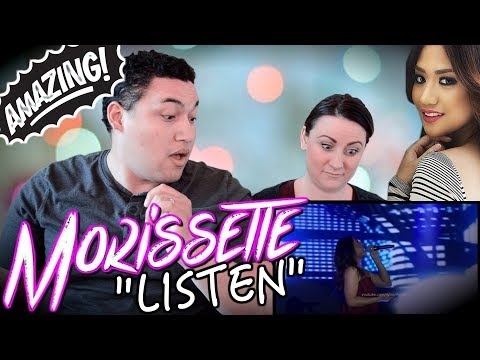 Morissette Amon sings Listen   COUPLES REACTION