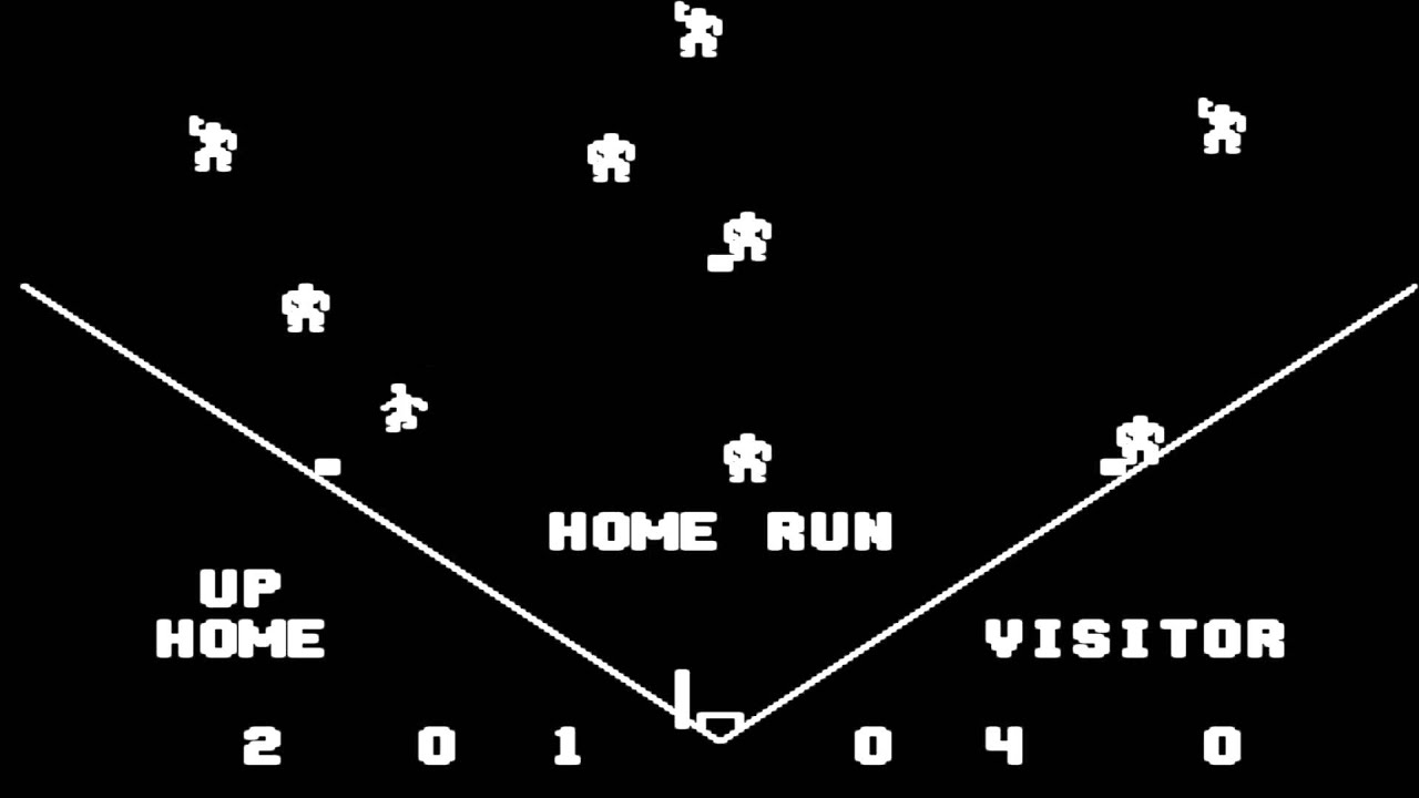 tornado baseball 1976 midway mame arcade video game emulation