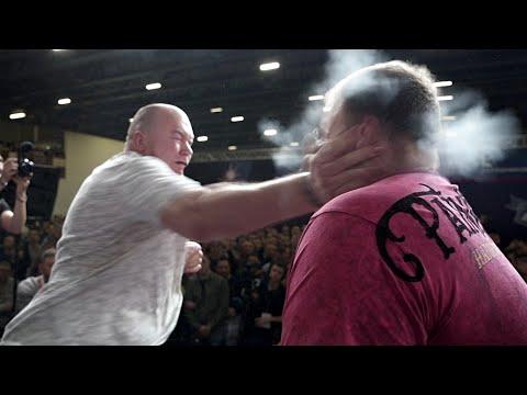 RUSSIAN SLAPS-2019! Scary Knockouts! Dana White In Shock
