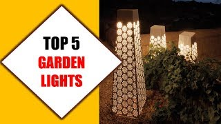 Top 5 Best Garden Lights 2018 | Best Garden Light Review By Jumpy Express