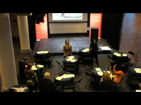 Participatory Performance—Key Note Address—10th Annual NoPassport Theatre Conference—Mon, March 14
