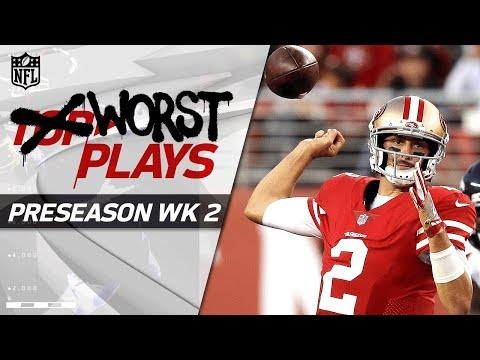 Biggest Fails of Week 2 | NFL Preseason Highlights