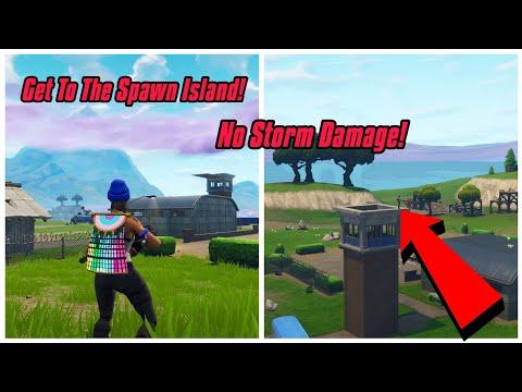 Go Back To Spawn Island Glitch In Fortnite (No Storm) Fortnite Glitches Season 6 PS4/Xbox One 2018