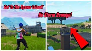 Voltar para Spawn ilha Glitch em Fortnite (sem tempestade) Fortnite Glitches temporada 6 PS4/Xbox 1 2018