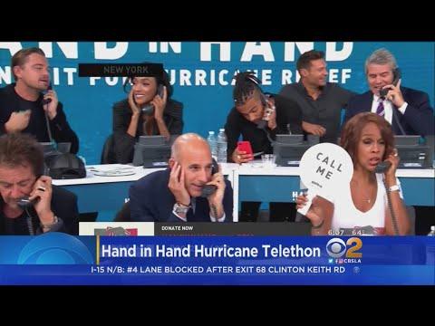 Celebrities Raise Money For Hurricane Harvey Victims