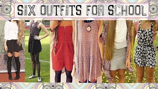 Six Outfits Perfect for School ✧ OOTW Thumbnail
