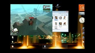 GTA San Andreas gameplay + Cheats