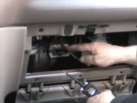 How to Find, test, and replace the blower resistor on a