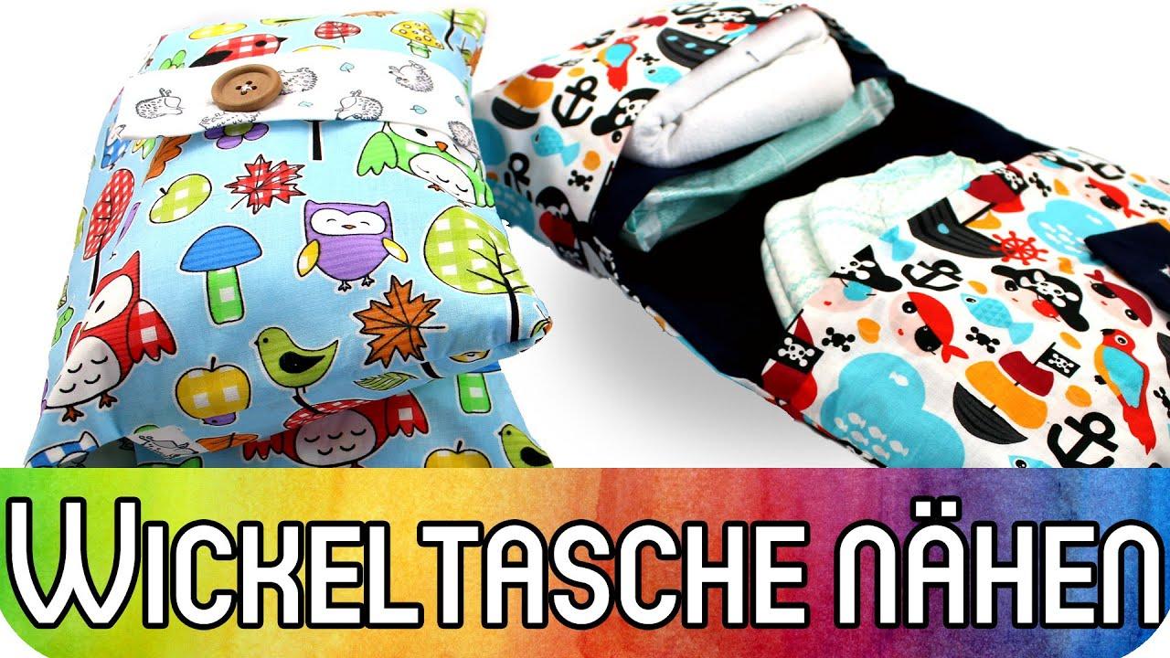How to: Wickeltasche (Windeltasche) selber nähen | Nähen für ...