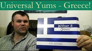 Universal Yums Unboxing - Greece!