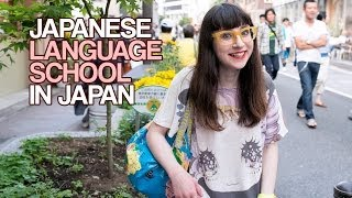 Japanese Language School in Japan with Christina