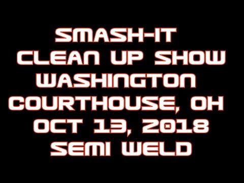 Washington Courthouse Cleanup Show Semi Weld 2018