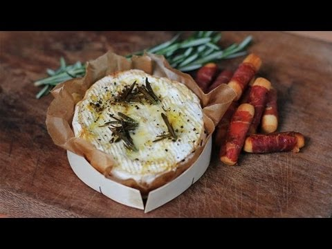 Baked Camembert With Parma Ham Breadsticks: Winter Warmers