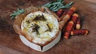 Baked Camembert With Parma Ham Breadsticks: Winter Warmers - S01e6/8