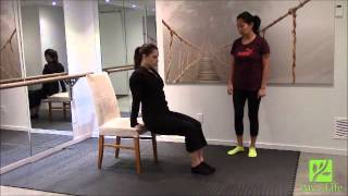 12 Days Of Fitness: Day 9 - Chair Dips