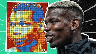 Making Player Portraits with 3,000 Cubes