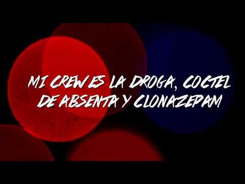 LIRIKA INVERZA FT PROOF | CÓCTEL DE ABSENTA  | LYRIC VIDEO (2012)