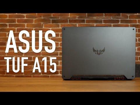Обзор Asus TUF Gaming A15. Топовый Игровой Ноутбук!