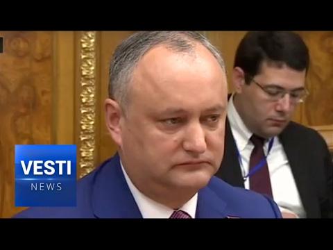Moldovan President Opposes NATO Plans