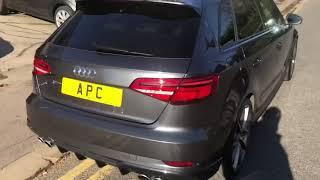 Apex performance cars Audi S3 black edition facelift