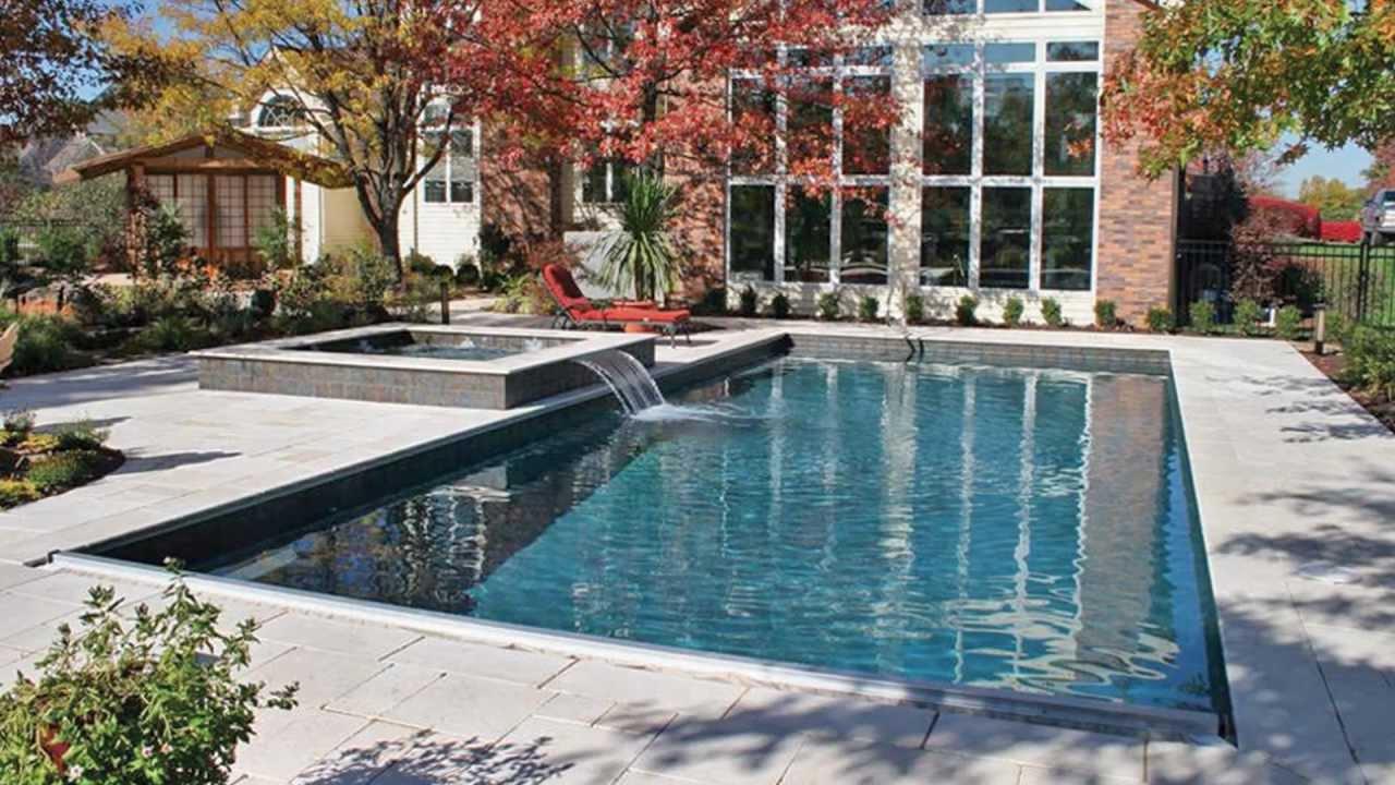 Geometric Swimming Pool Designs Youtube