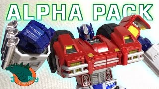 Alpha Pack [Not Optimus Prime] Spark Toys ST-01 Review
