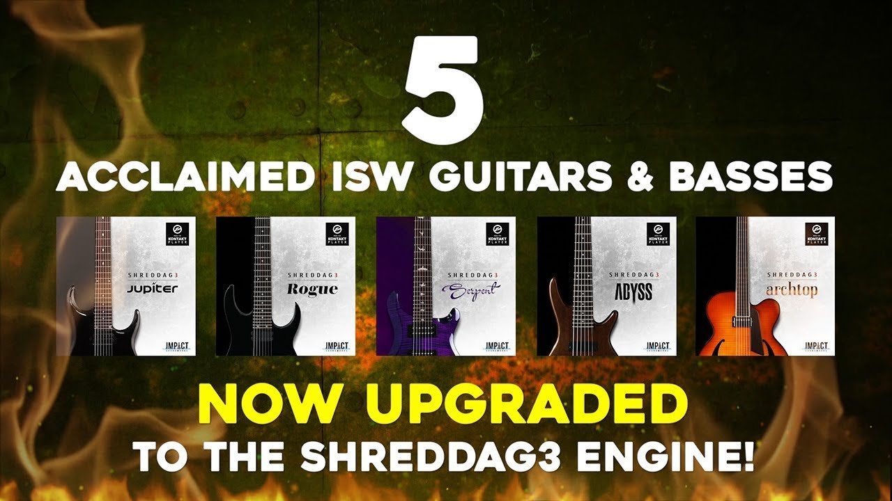 Shreddage 3 Archtop (VST, AU, AAX) Virtual Guitar Instrument