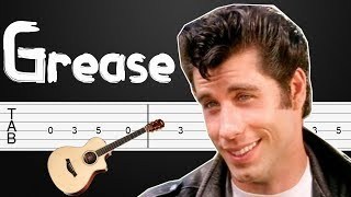 You're The One That I Want - Grease Guitar Tabs, Guitar Tutorial, Guitar Lesson