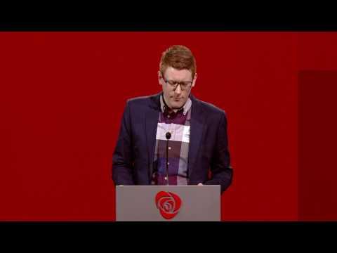 Martin Henriksen - Arbeiderpartiets landsmøte 2017