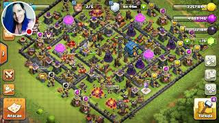Mi emisión de Clash of Clans