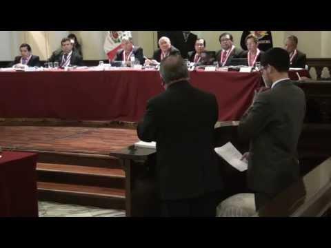 03/09/2015 - IX Pleno Jurisdiccional Supremo Penal del Poder Judicial