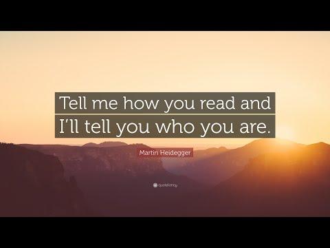 TOP 20 Martin Heidegger Quotes