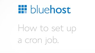 How to set up a cron job.