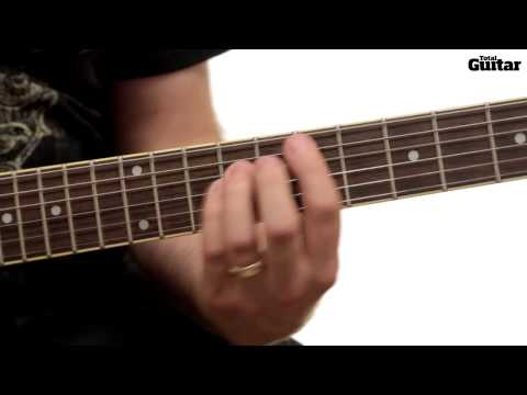 Guitar Lesson: Learn how to play Pearl Jam - Mind Your Manners - Intro (TG245)
