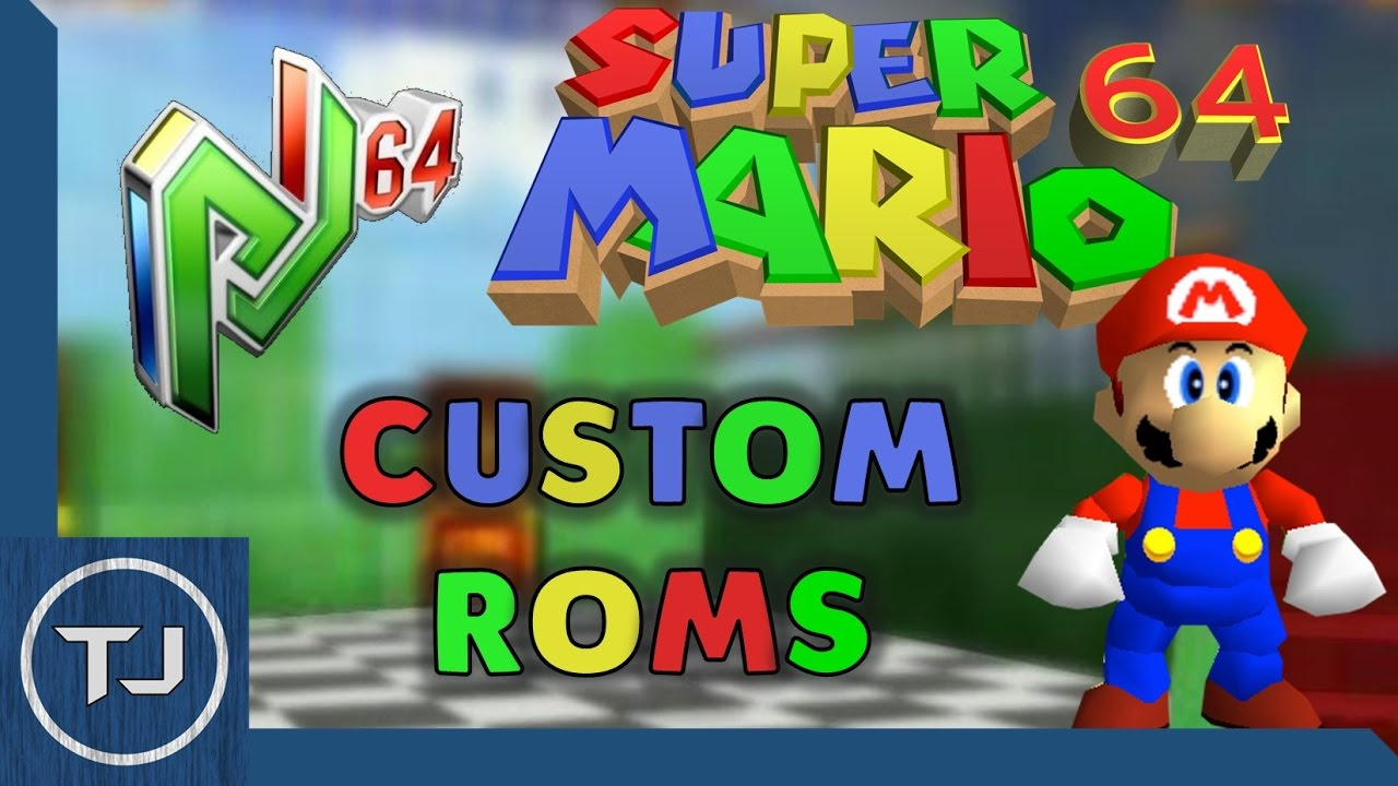 How To Play Custom SM64 Roms On Project 64! Windows 10!