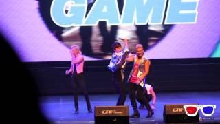 HD 130622 NU'EST Baekho & Minhyun doing a sexy dance