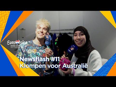 Jendrik en Samya ?brengen? Montaigne naar Rotterdam | Newsflash #11 | Eurovision 2021