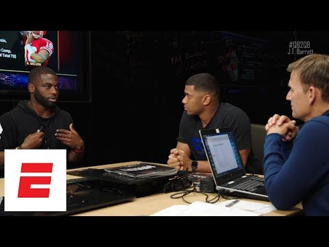 Russell Wilson sits down with J.T. Barrett to discuss questions about his game | QB2QB | ESPN
