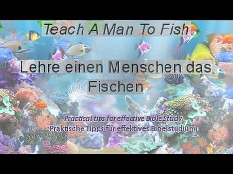 Lehre einen Menschen das Fischen (eng/ger) - Emanuel Baek/Christopher Kramp