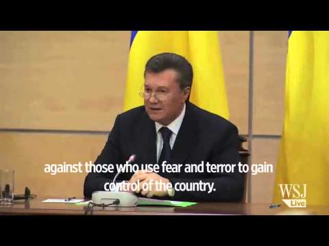 Viktor Yanukovych Resurfaces in Russia