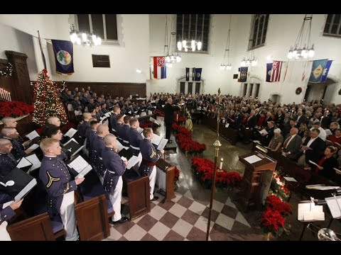 The Citadel Candlelight Service