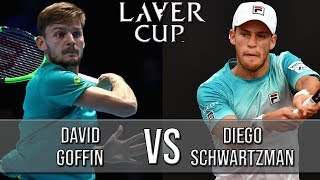 David Goffin Vs Diego Schwartzman - Laver Cup 2018 (Highlights HD)