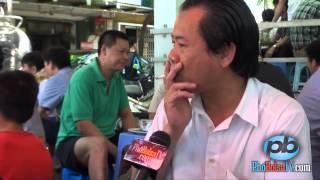 Phóng sự đường phố ở quán bia hơi Tuấn Mượt, Cột cờ Hà Nội