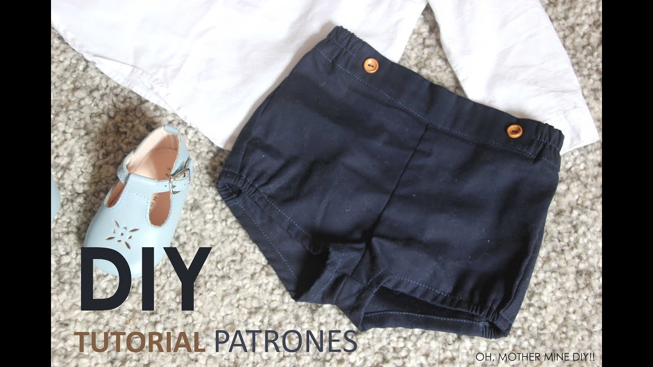 Diy Pantalon De Bebe Youtube