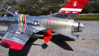 F-100F Super Sabre -- A wonderful scale jet model