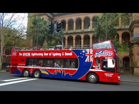 Sydney Explorer - sightseeing by hop-on hop-off bus HD !